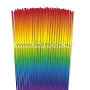 4mm farba papierové prúžky na quilling (110 ks, 49 cm)