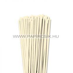 5mm slonovinová papierové prúžky na quilling (100 ks, 49 cm)