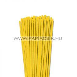 5mm žltá banánová papierové prúžky na quilling (100 ks, 49 cm)
