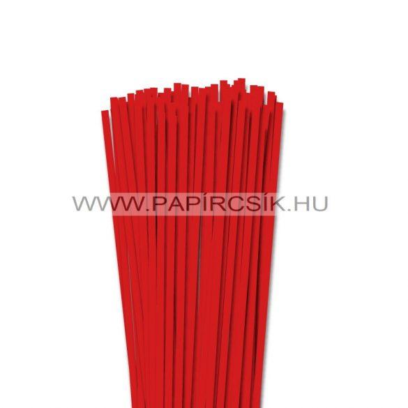 5mm korálovo červená  papierové prúžky na quilling (100 ks, 49 cm)