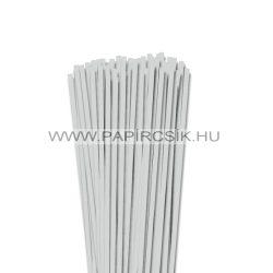 5mm svetlošedá papierové prúžky na quilling (100 ks, 49 cm)