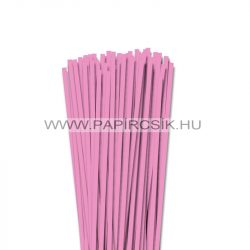 5mm baby svetloružová papierové prúžky na quilling (100 ks, 49 cm)