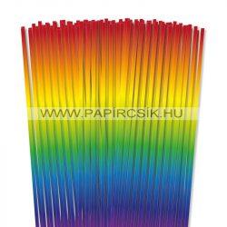 5mm farba papierové prúžky na quilling (100 ks, 48 cm)