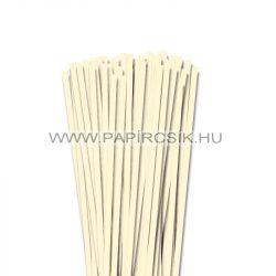 6mm slonovinová papierové prúžky na quilling (90 ks, 49 cm)