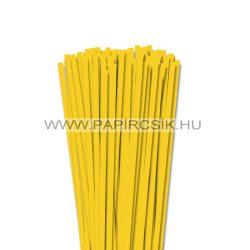 6mm žltá banánová papierové prúžky na quilling (90 ks, 49 cm)