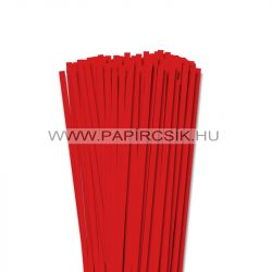 6mm korálovo červená  papierové prúžky na quilling (90 ks, 49 cm)