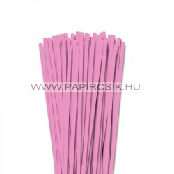 6mm baby svetloružová papierové prúžky na quilling (90 ks, 49 cm)