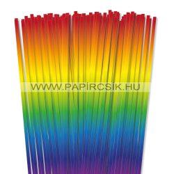 6mm farba papierové prúžky na quilling (90 ks, 49 cm)