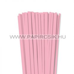 7mm ružovápapierové prúžky na quilling (80 ks, 49 cm)