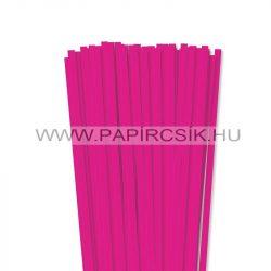7mm pinkpapierové prúžky na quilling (80 ks, 49 cm)