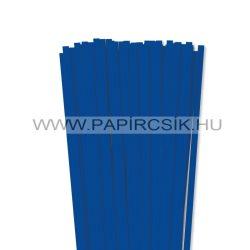 7mm ultramarínovápapierové prúžky na quilling (80 ks, 49 cm)