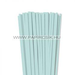 7mm svetlo modrápapierové prúžky na quilling (80 ks, 49 cm)
