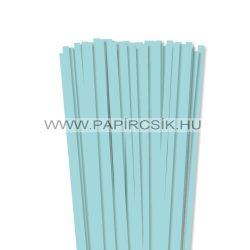 7mm stredne modrápapierové prúžky na quilling (80 ks, 49 cm)