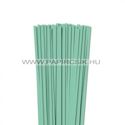 7mm trávovo zelenápapierové prúžky na quilling (80 ks, 49 cm)