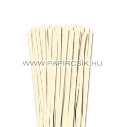 7mm slonovinová papierové prúžky na quilling (80 ks, 49 cm)