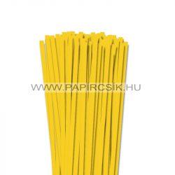 7mm žltá banánová papierové prúžky na quilling (80 ks, 49 cm)