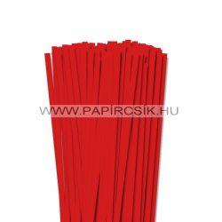7mm korálovo červená  papierové prúžky na quilling (80 ks, 49 cm)