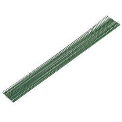 Zelený aranžovací drôt 0,9mm/350 mm, 10 ks