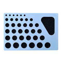 Šablónová tabuľa II. na quilling - šablóna na kruhy