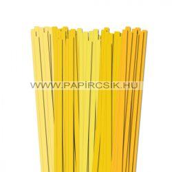 Sárga árnyalatok, 10mm-es quilling papírcsík (5x20, 49cm)