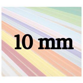 10mm papierové prúžky na quilling