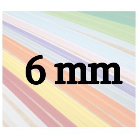 6mm papierové prúžky na quilling