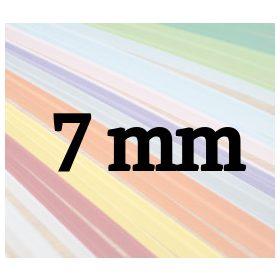 7mm papierové prúžky na quilling